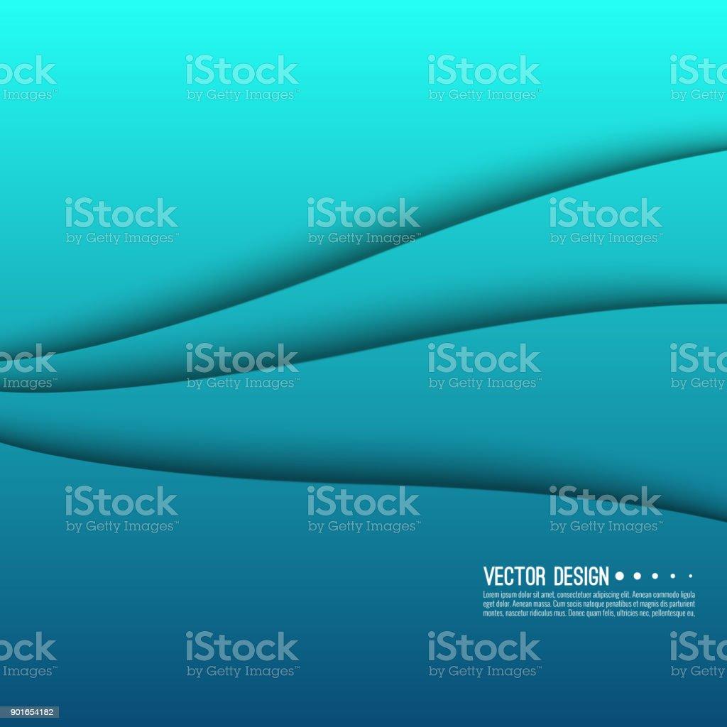 Abstract creative concept vector. vector art illustration