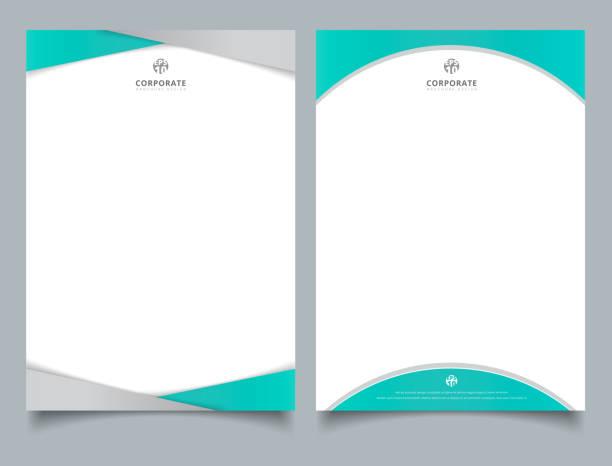 royalty free letterhead design clip art vector images