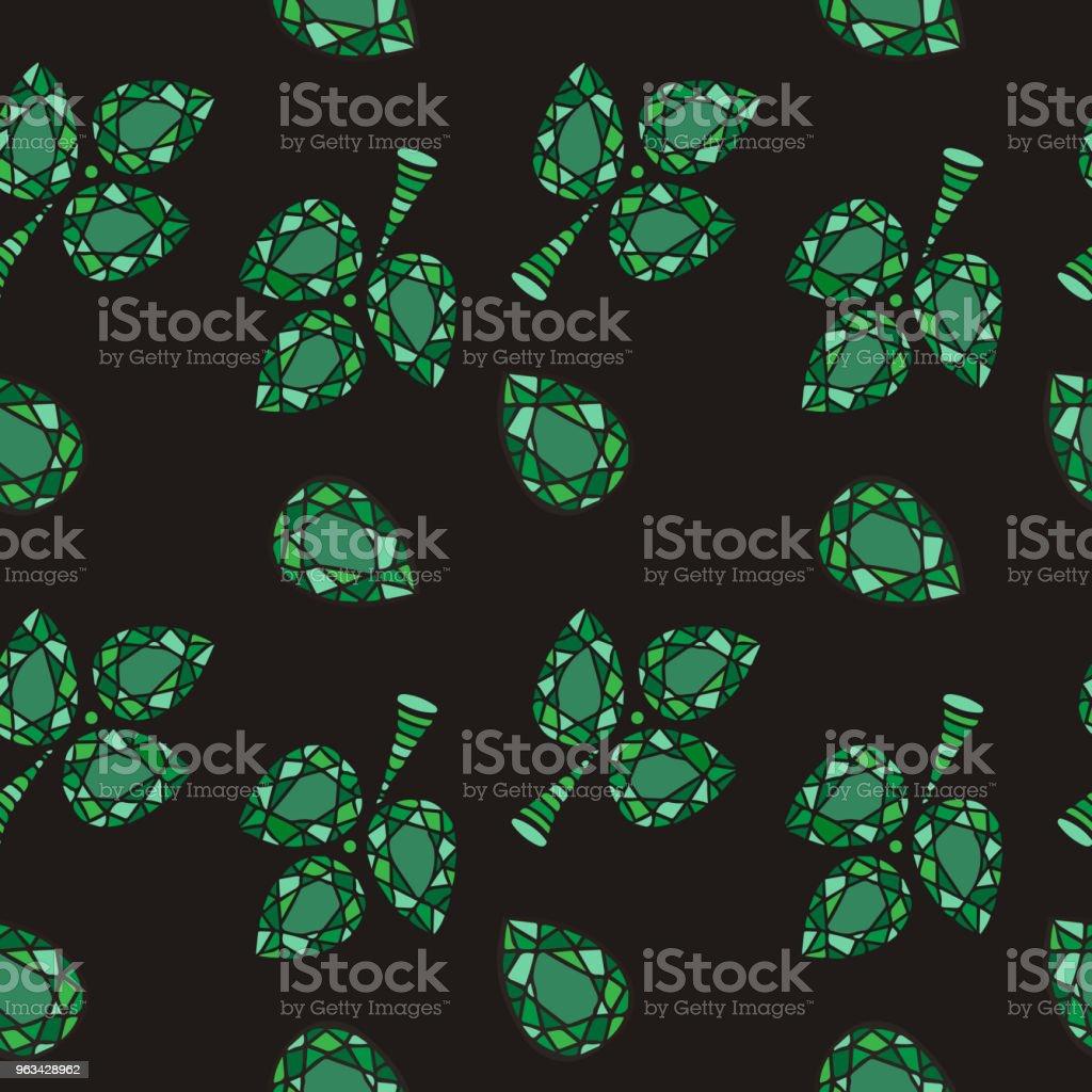 Abstract crystal gems backgrounds - Grafika wektorowa royalty-free (Abstrakcja)