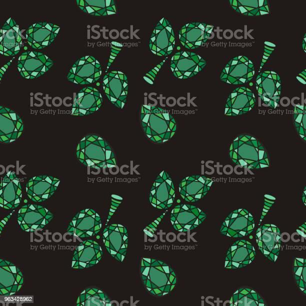 Abstrakcyjne Kryształowe Perełki Tła - Stockowe grafiki wektorowe i więcej obrazów Abstrakcja