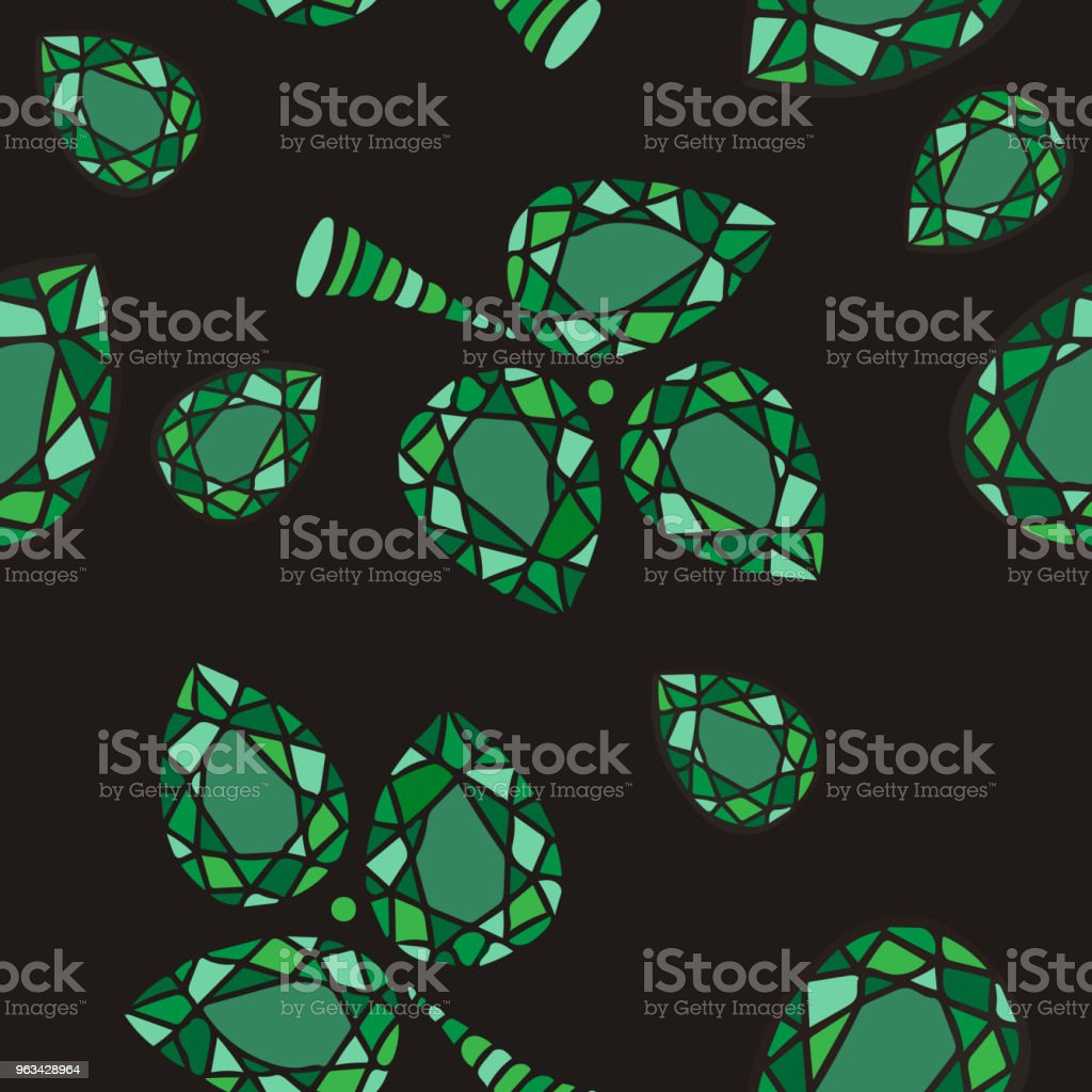 Gemmes de cristal abstraite arrière-plans - clipart vectoriel de Abstrait libre de droits