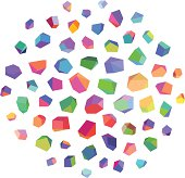 istock Abstract Crystals 166009560