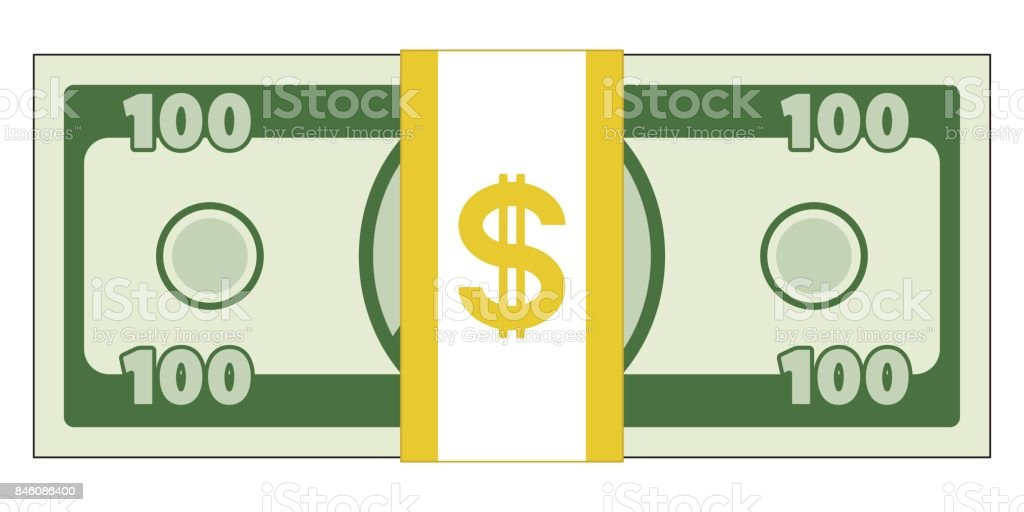 Abstract currency illustration vector art illustration