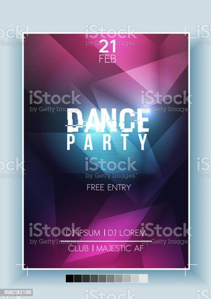 Abstract dance party night poster flyer template vector illustration vector id896283186?b=1&k=6&m=896283186&s=612x612&h=muoitu04woxxaa ry3fyfqb4h8hoea1ui87weouo7v0=