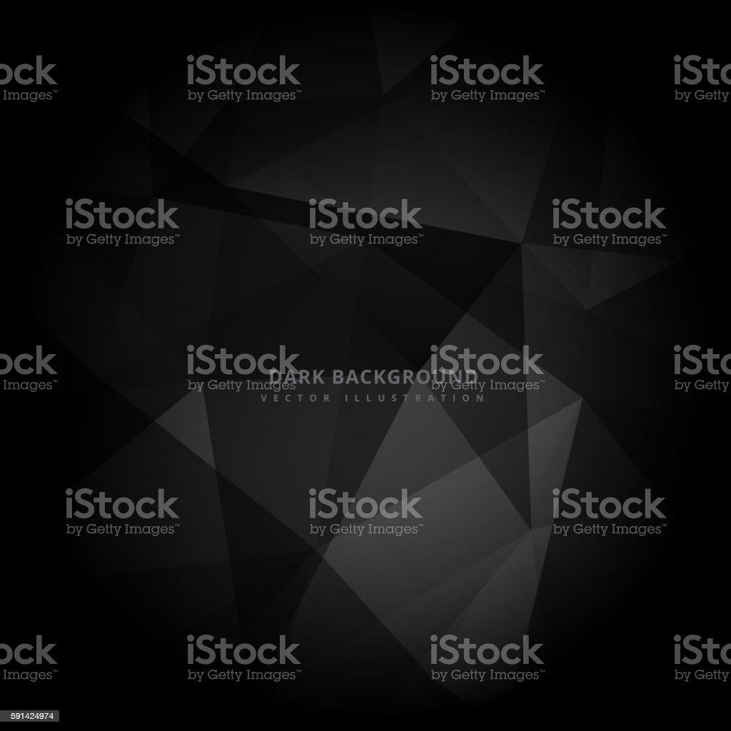 Abstrakte dunklen Hintergrund  – Vektorgrafik