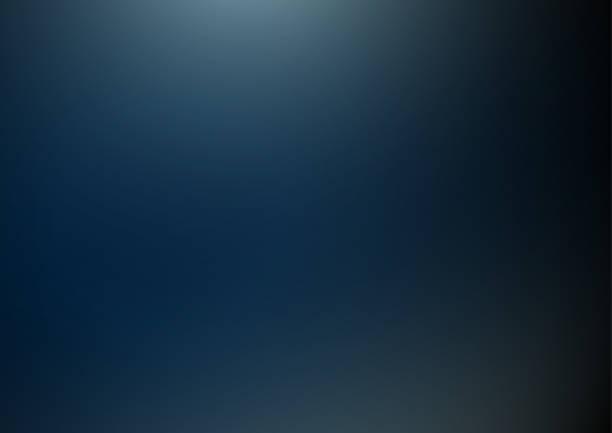 Abstract dark blue background vector art illustration