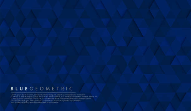 Abstract dark navy blue geometric hexagon shape background pattern. Vector for presentation design. Suit for business, corporate, institution, party, festive, seminar, and talks. Vector illustration Abstract dark navy blue geometric hexagon shape background pattern. Vector for presentation design. Suit for business, corporate, institution, party, festive, seminar, and talks. Vector illustration dark blue stock illustrations