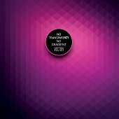 Abstract dark purple color geometric background