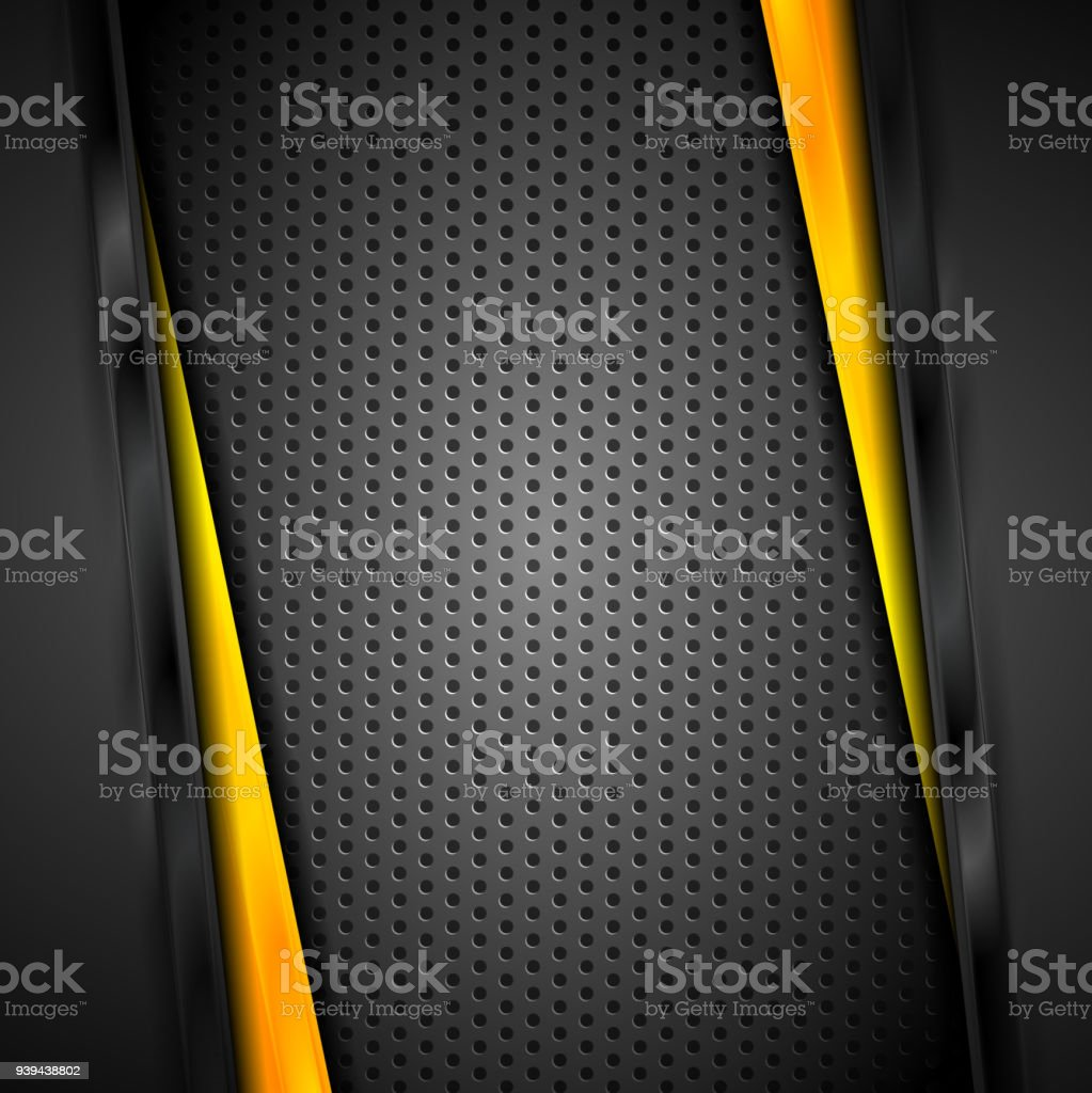 Abstract dark tech corporate vector background vector art illustration
