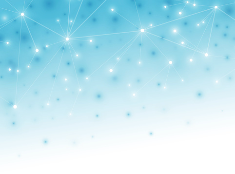 Abstract data network background