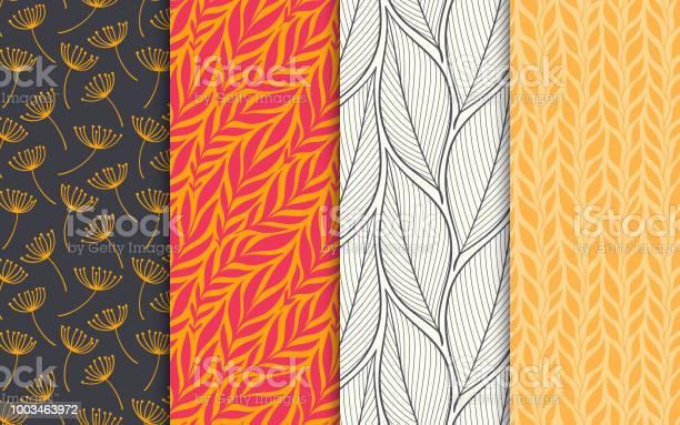 Abstract decorative doodle nature seamless patterns set hand drawn vector id1003463972?b=1&k=6&m=1003463972&s=612x612&h=b4axxbjz3kpq5bt1bhce f8sqn3kzfix7wacsoxqnt4=