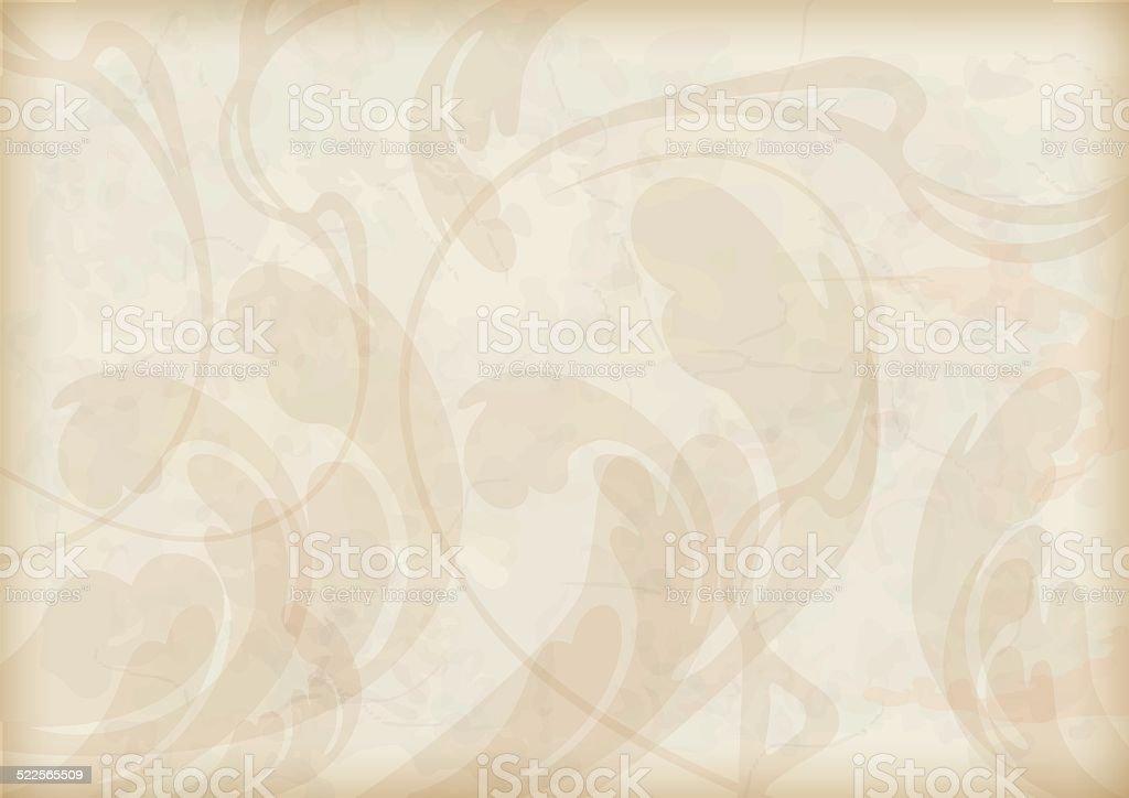 Abstract decorative grunge textured background vector art illustration