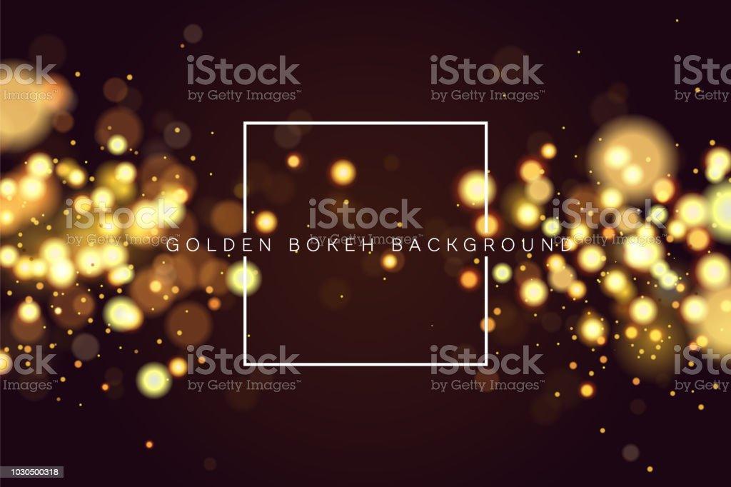 Resumen defocused bokeh circular de oro brillo brillo luces fondo. Fondo de Navidad mágica. Fondo de oro metálico, brillante y elegante. EPS 10. ilustración de resumen defocused bokeh circular de oro brillo brillo luces fondo fondo de navidad mágica fondo de oro metálico brillante y elegante eps 10 y más vectores libres de derechos de abstracto libre de derechos