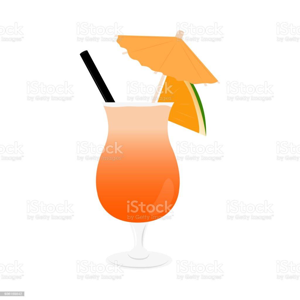 Abstrakte Leckeren Cocktail Stock Vektor Art und mehr Bilder von ...