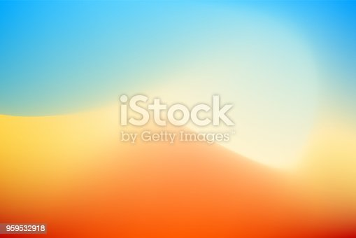 istock Abstract desert background 959532918