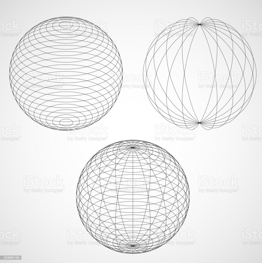 Abstract Design Sphere. Abstract Design Sphere. Vector illustration Art stock vector