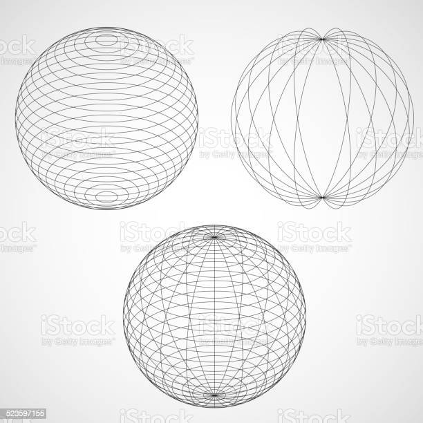 Abstract Design Sphere Stock Illustration - Download Image Now