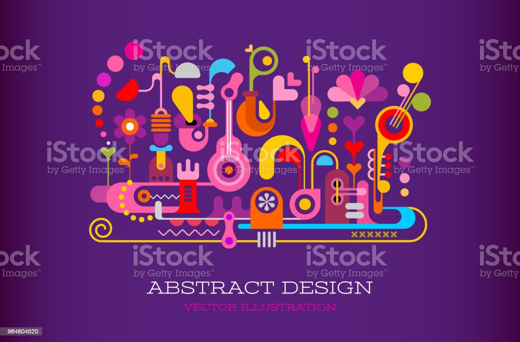 Abstract Design vector background royalty-free abstract design vector background stock vector art & more images of abstract