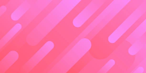 bildbanksillustrationer, clip art samt tecknat material och ikoner med abstrakt design med geometriska former-trendig rosa gradient - rosa bakgrund