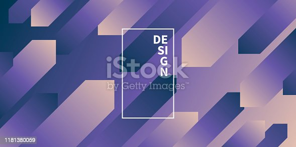 877787978istockphoto Abstract design with geometric shapes - Trendy Purple Gradient 1181380059