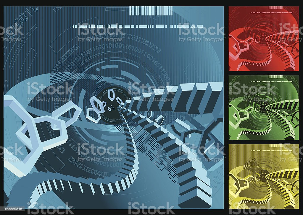 Abstract Digital Backgrounds Series royalty-free abstract digital backgrounds series stock vector art & more images of abstract