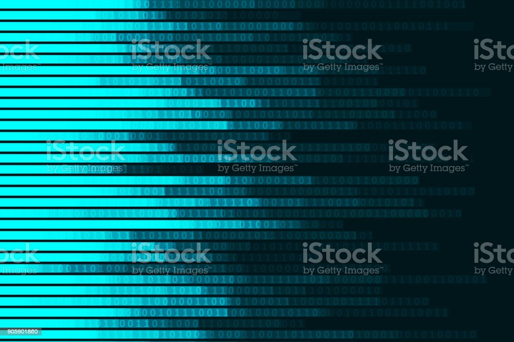 Abstract digital code visualization royalty-free abstract digital code visualization stock vector art & more images of abstract