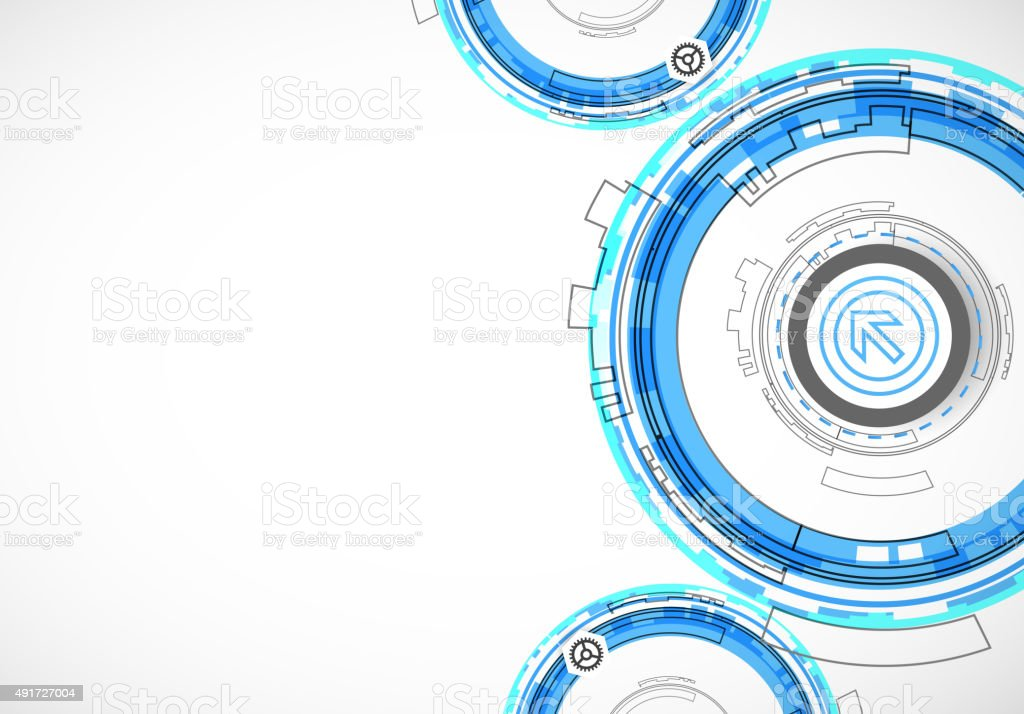 Abstract Digital Communication Technology Background Stock ...