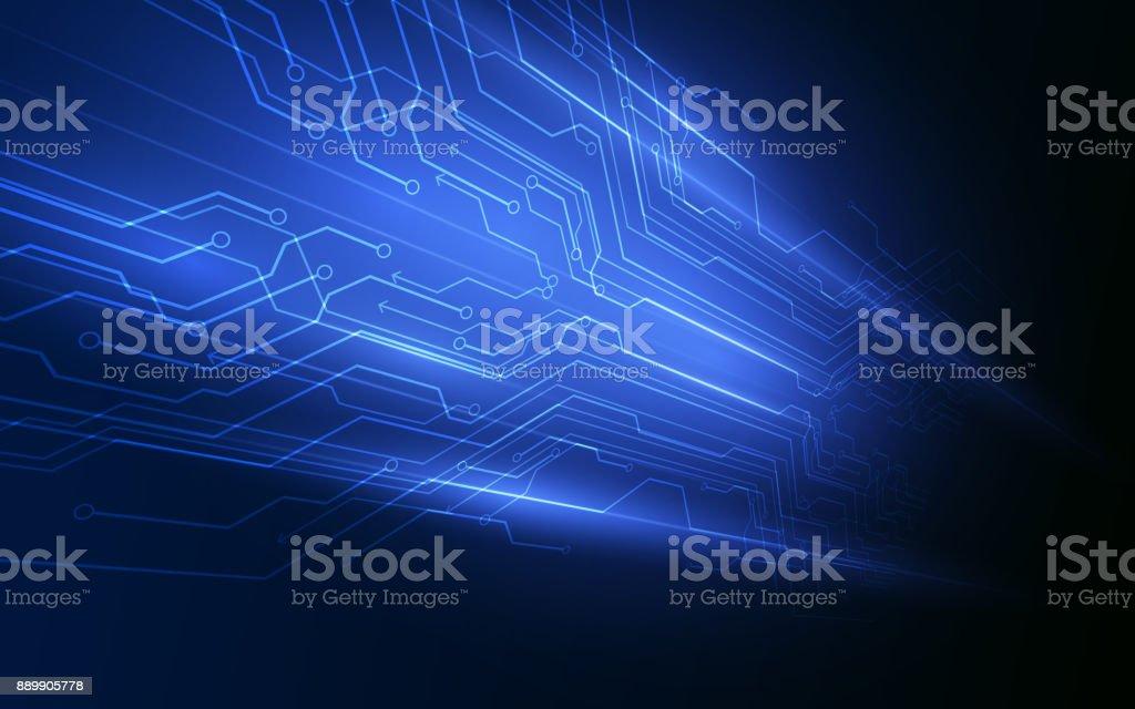 abstract digital hi tech technology innovation concept vector background vector art illustration