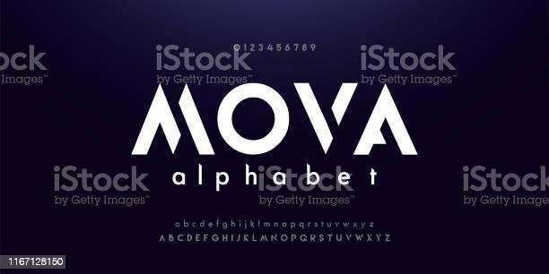 Abstract digital modern alphabet fonts typography technology dance vector id1167128150?b=1&k=6&m=1167128150&s=612x612&h=xyobxjnc37ai6eh ukjdycaz9 kleranutsaovchbaq=