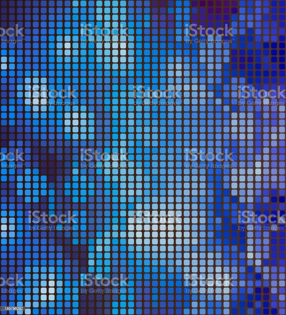 Abstract digital pattern, mosaic. royalty-free abstract digital pattern mosaic stock vector art & more images of backdrop