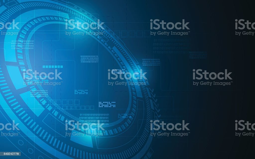 abstract digital technology texture pattern design background vector art illustration