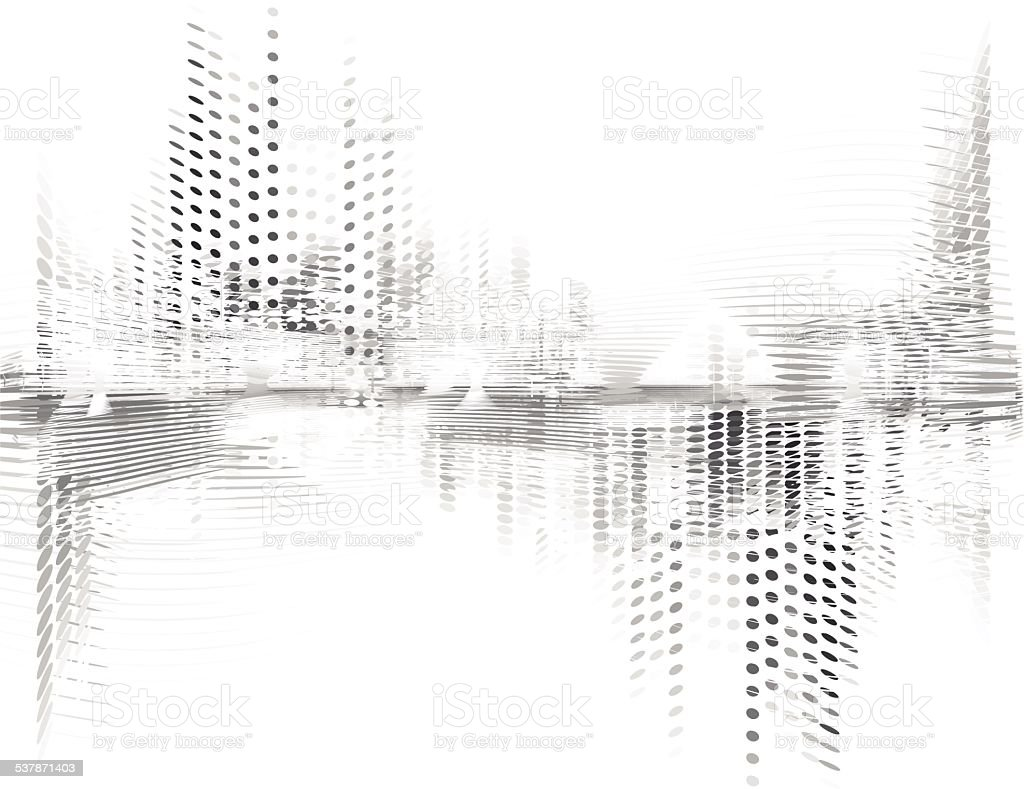 Abstract digital vector background vector art illustration