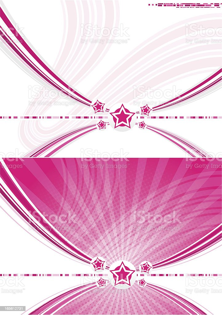 Abstract disco background vector art illustration