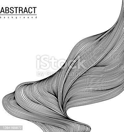 istock Abstract doodle shape 1264165872