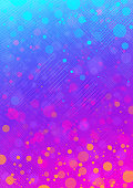 Modern colorful blue and pink abstract vector background