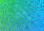 Modern green and blue colorful abstract vector background