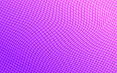 Vector Abstract Dotted Background Wave Pattern In Purple And Pink Color