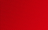 Vector Abstract Dotted Three Dimensional Background In Red Color, Christmas Background