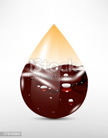 istock 3D abstract  drop 1276792604