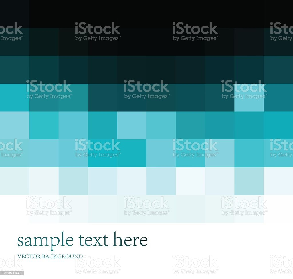 Abstract empty background with cubes and grid vector art illustration
