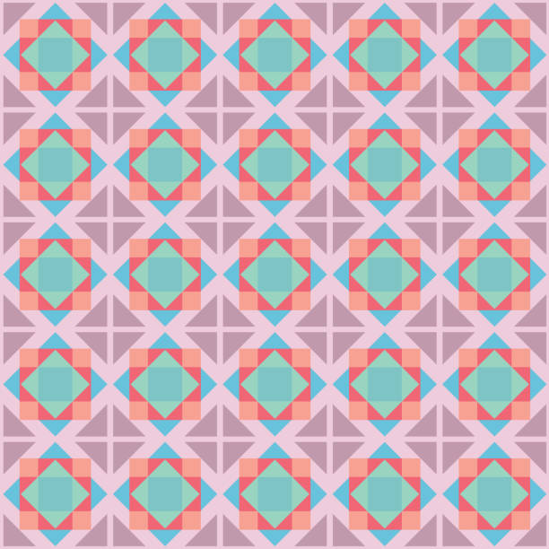 Abstract Ethnic Pattern vector art illustration
