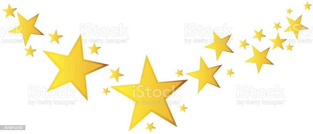 abstract falling star vector illustration with golden christmas rh istockphoto com Gold Stars Red Christmas Background Christmas Tree Gold Star Clip Art