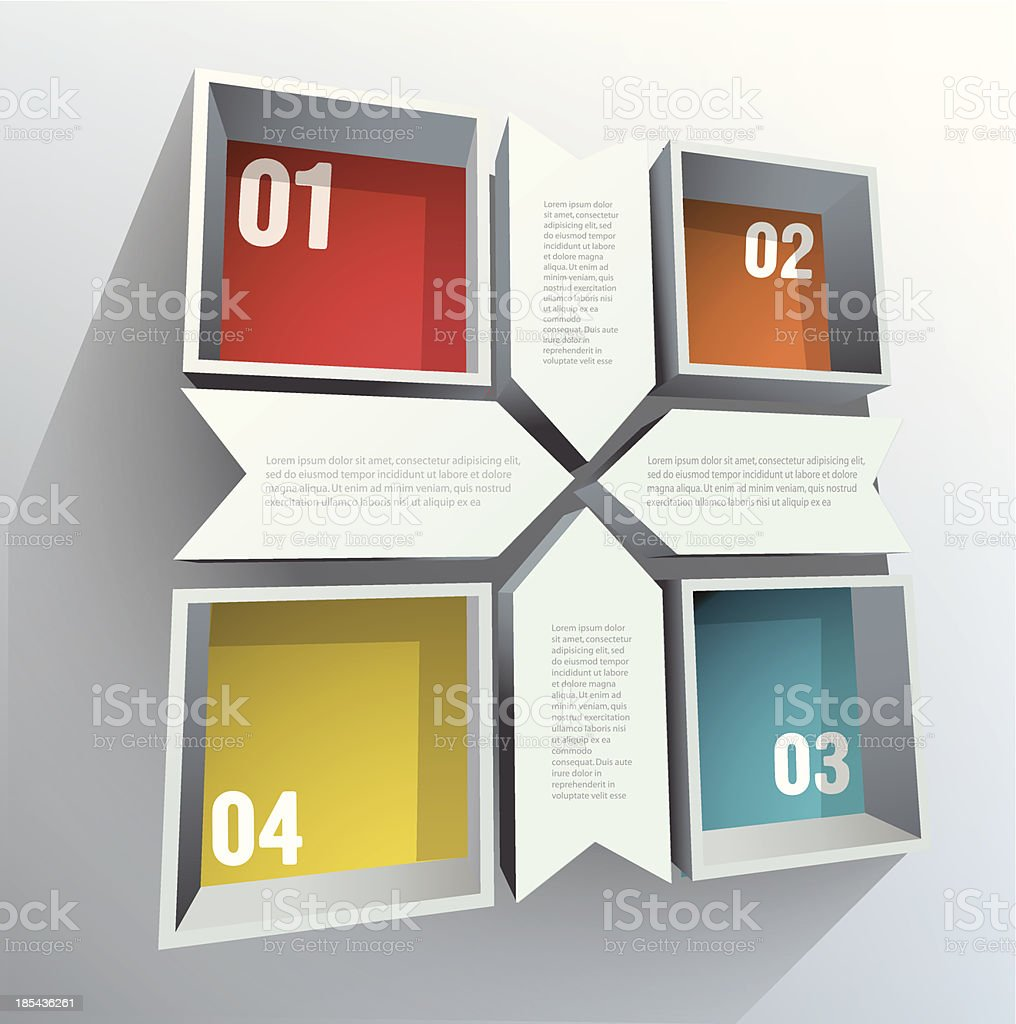 Abstract figure royalty-free stock vector art