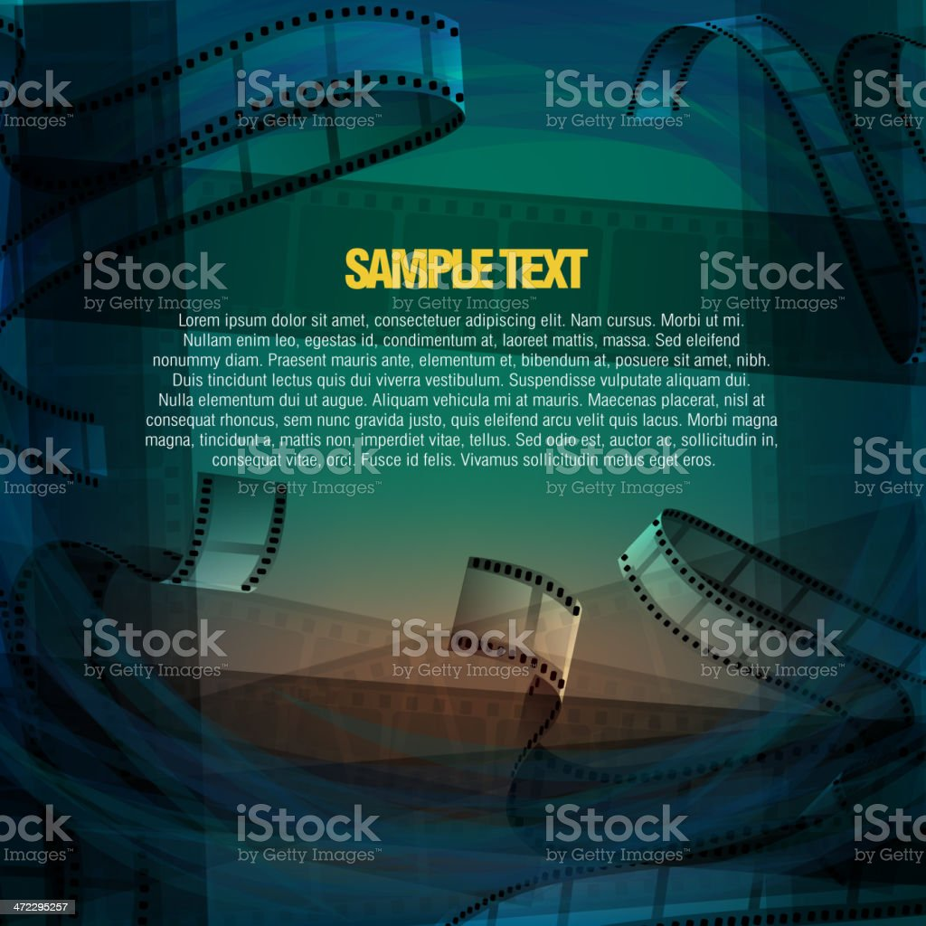 Abstract Film Reel Background royalty-free abstract film reel background stock vector art & more images of abstract