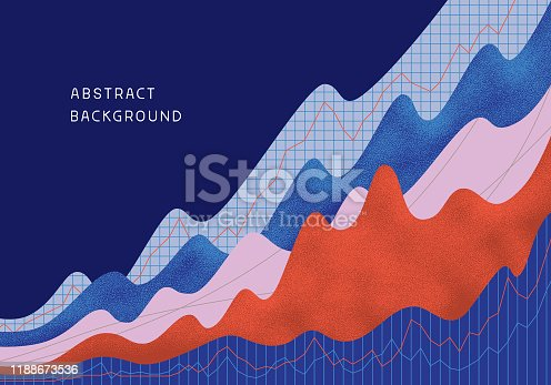 istock Abstract financial background 1188673536