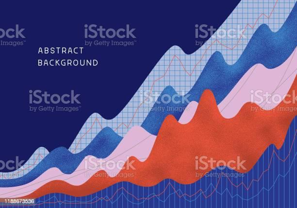 Abstrakter Finanzieller Hintergrund Stock Vektor Art und mehr Bilder von Abstrakt