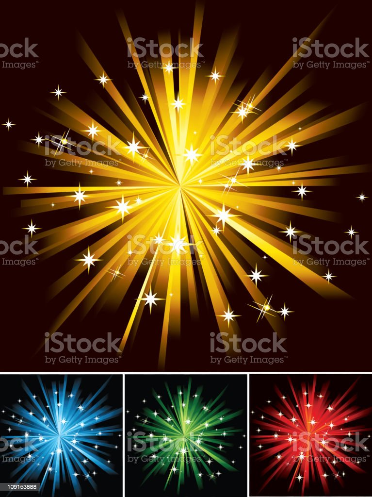 Abstract firework royalty-free abstract firework stock vector art & more images of abstract