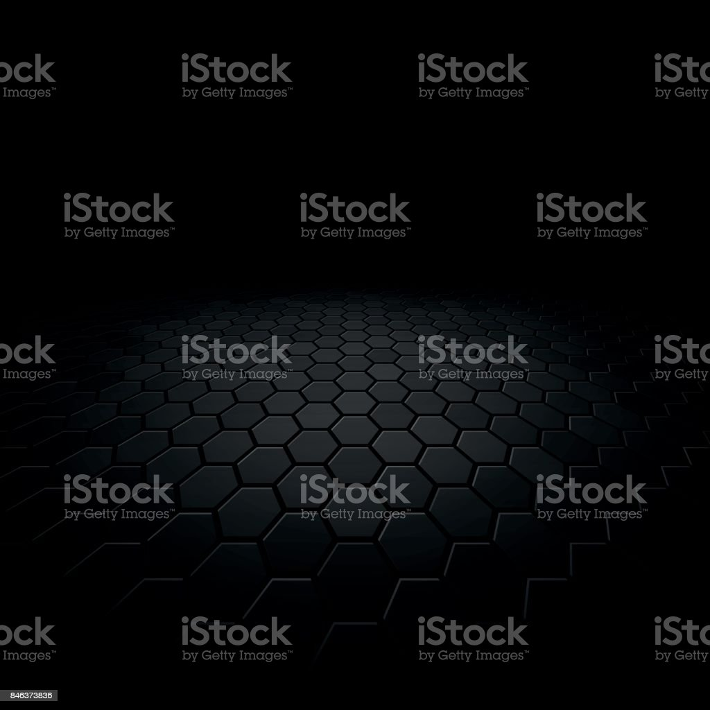 abstract floor perspective black texture background vector art illustration