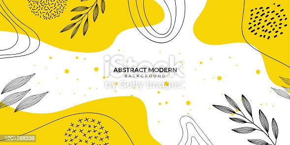 istock Abstract floral background 1201268339