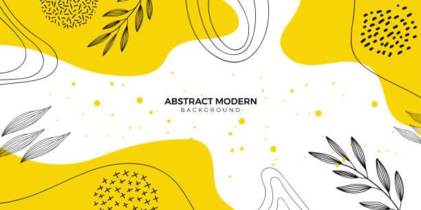 抽象花卉背景 - 大自然 幅插畫檔、美工圖案、卡通及圖標